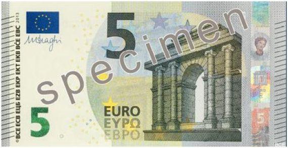 nouveau billet cinq euros
