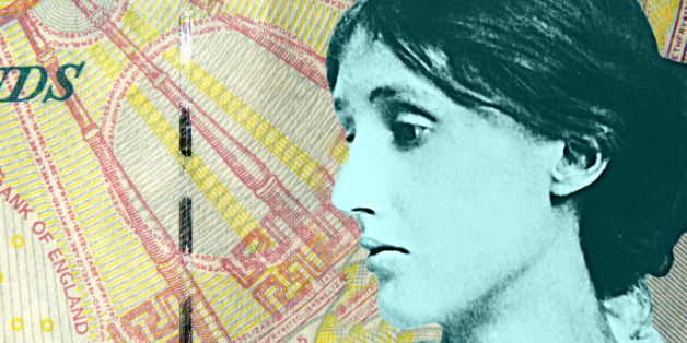 A note of one's own -- Virgina Woolf on a fiver