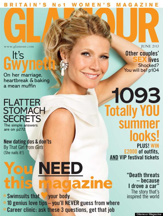 gwyneth paltrow glamour magazine