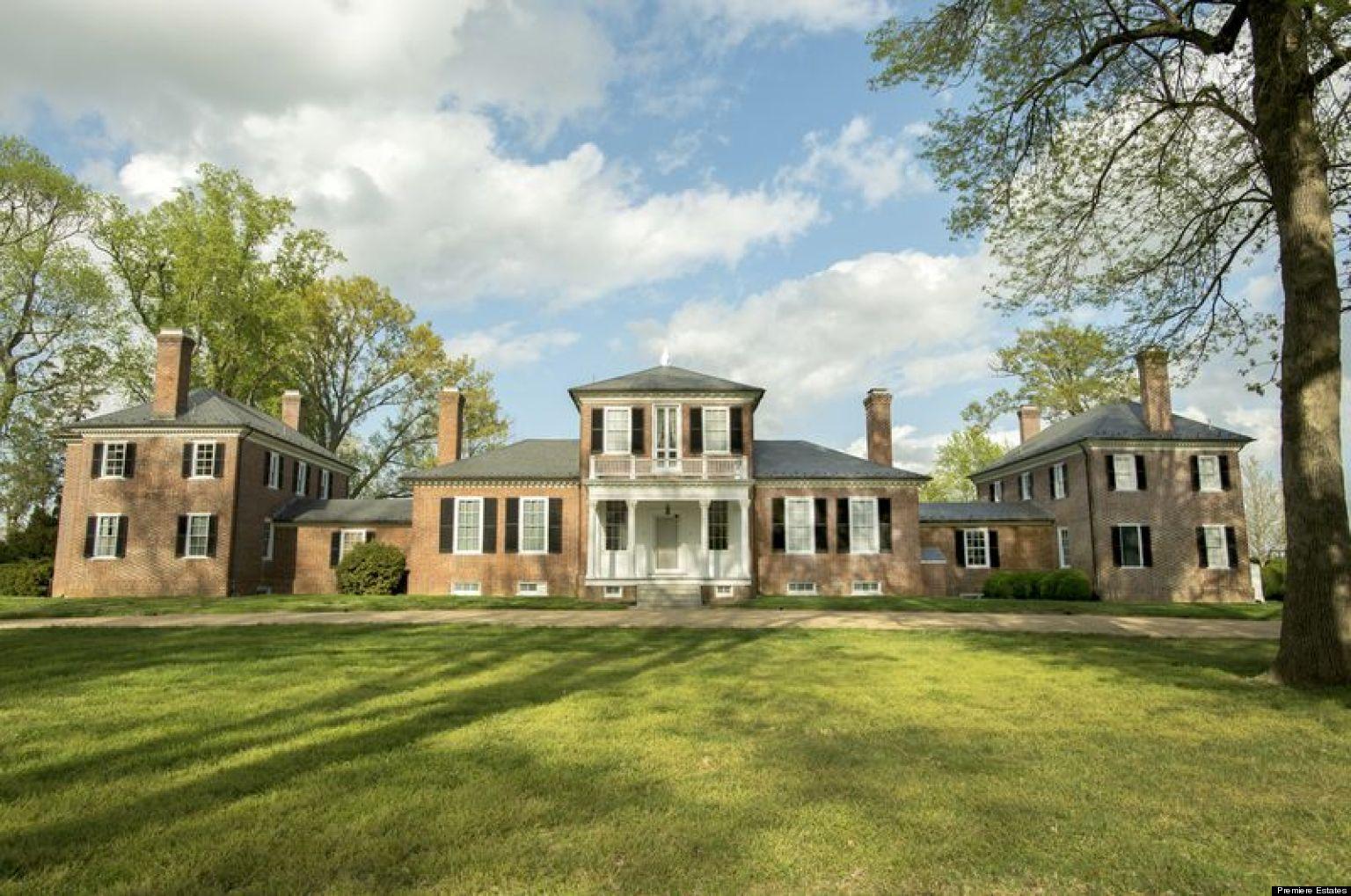Brandon Plantation For Sale Thomas JeffersonDesigned Virginia