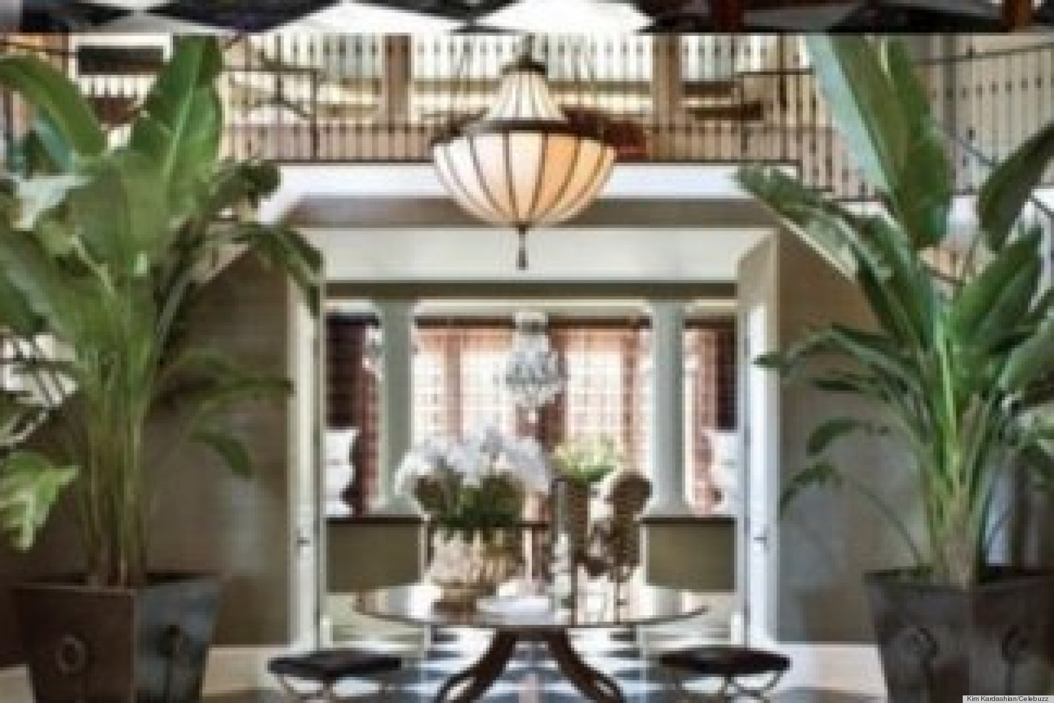 Kris Jenner\u0027s New Talk Show Set Looks Exactly Like Her Home Foyer ...