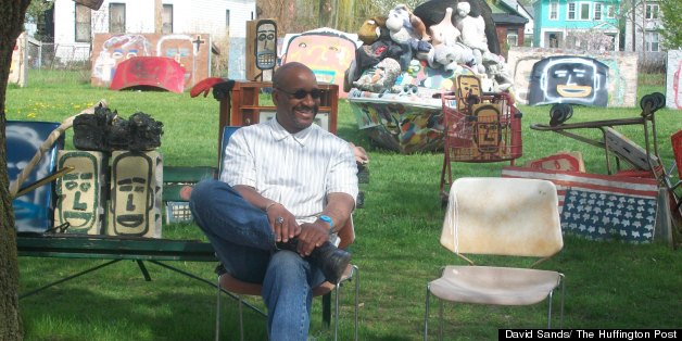 Heidelberg Project Fire Receives Surprising Responses From Artist Tyree Guyton, Detroit Supporters
