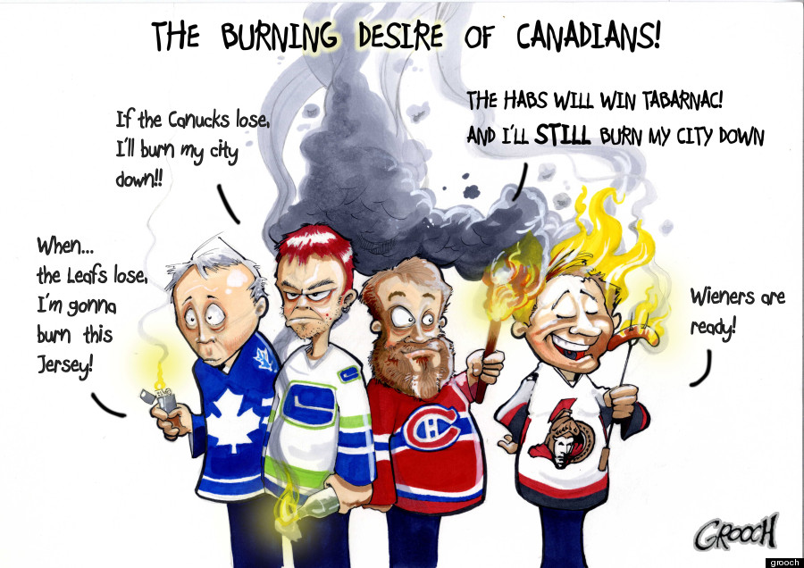 nhl playoffs canadians