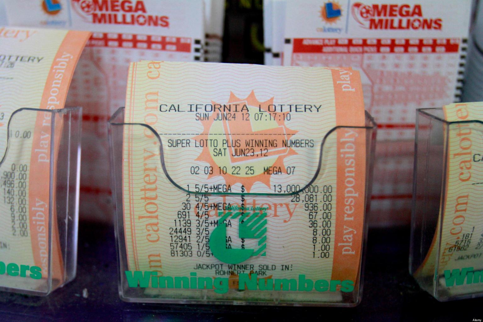 California powerball recent winning numbers