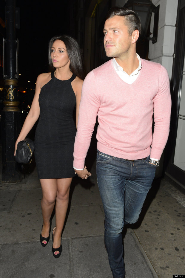 Michelle keegan dating mark flanagan