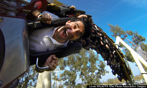 360 degree roller coaster photos