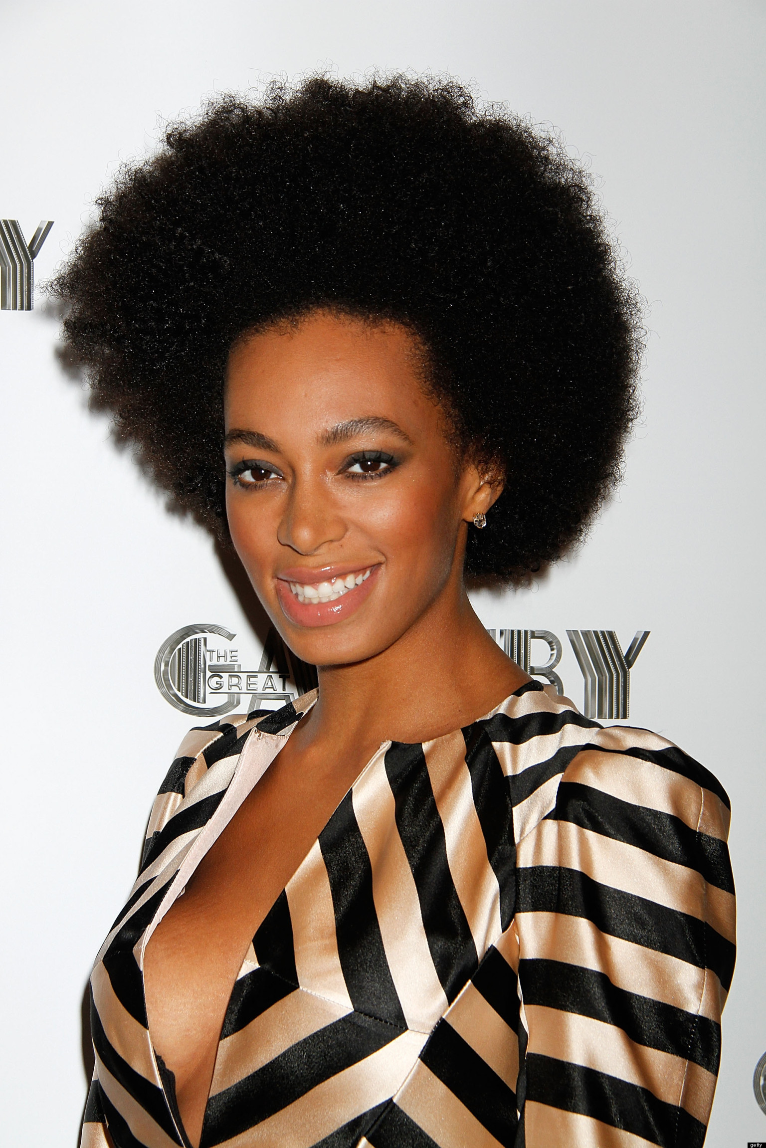 Solange Knowles Cleavage On Display At The Great Gatsby