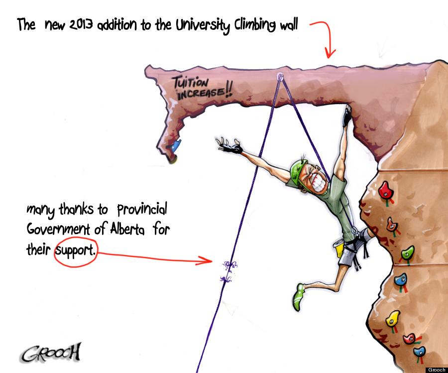 alberta university cuts tuition