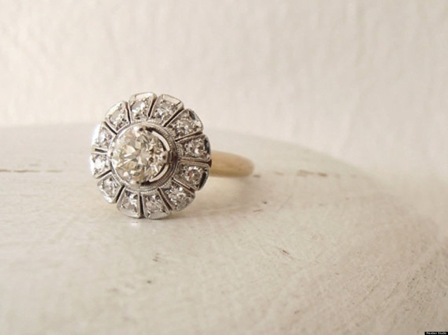vintage engagement rings to suit every indie bride (photos) | huffpost