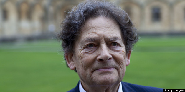 OXFORD, UNITED KINGDOM - APRIL 05: Lord Nigel Lawson , politician, poses for a portrait at the Oxford Literary Festival on April 5, 2011 in Oxford, England. (Photo by David Levenson/Getty Images)
