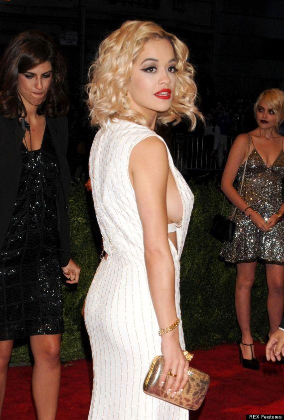 Met Ball 2013 Cara Delevingne And Rita Ora Flash Flesh As
