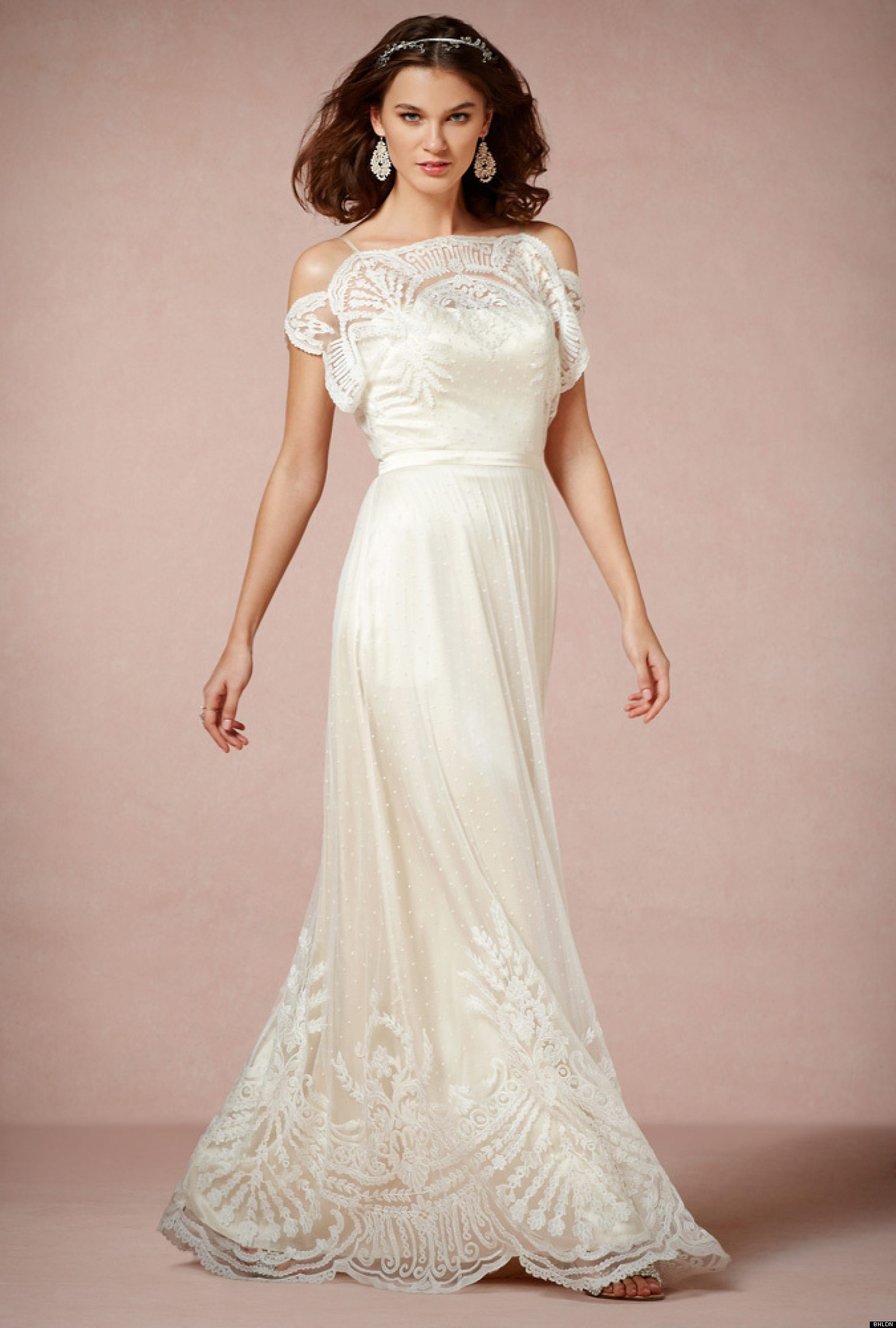 20 gatsby worthy wedding dresses huffpost for The great gatsby wedding dresses