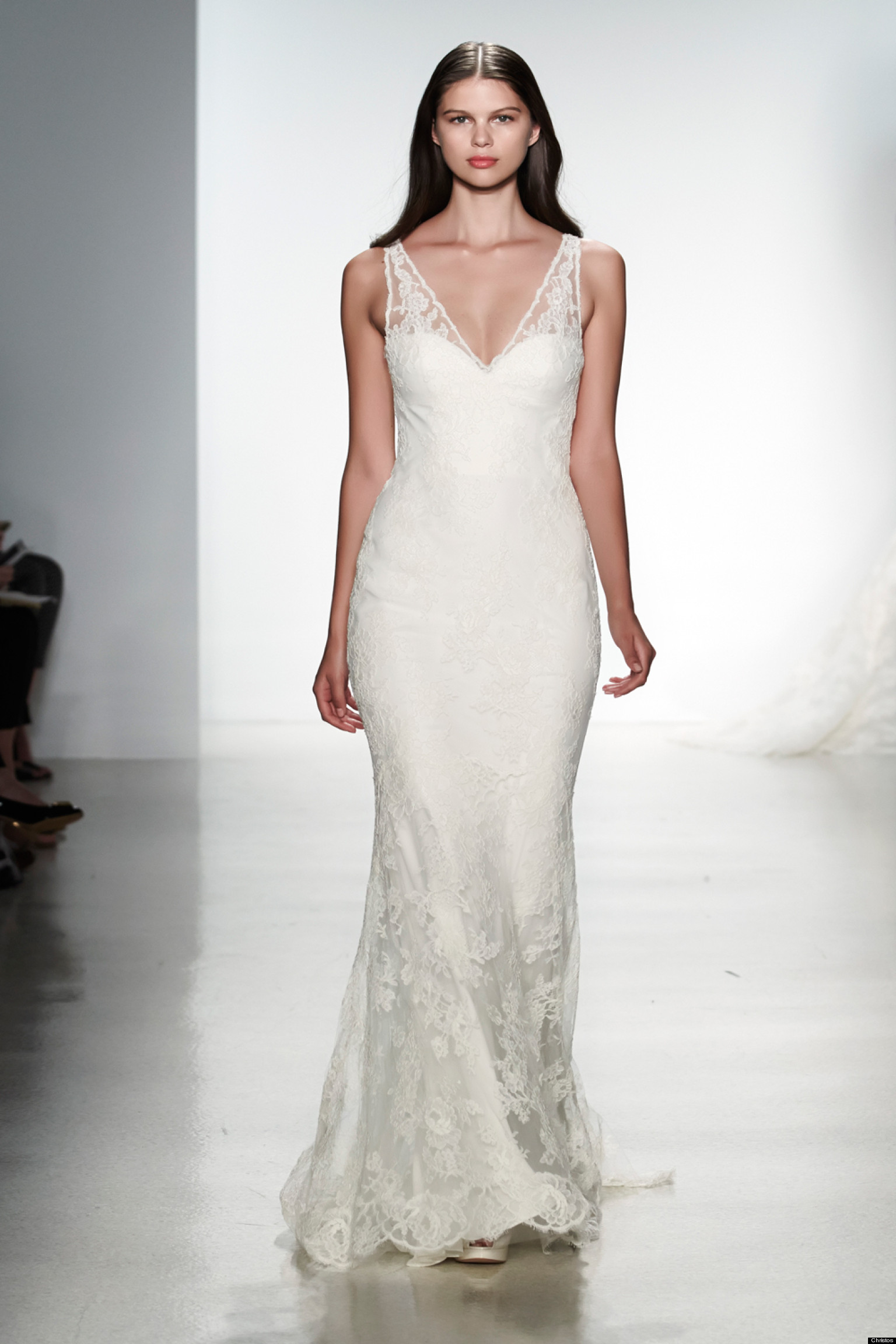 Choosing the best wedding gown for your body type huffpost for Wedding dresses for tall skinny brides