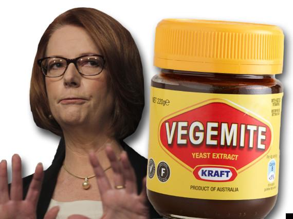 julia gillard vegemite sandwich