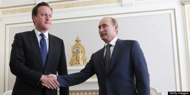David Cameron meets Vladimir Putin for talks on Friday