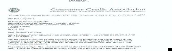 payday loans lobbying