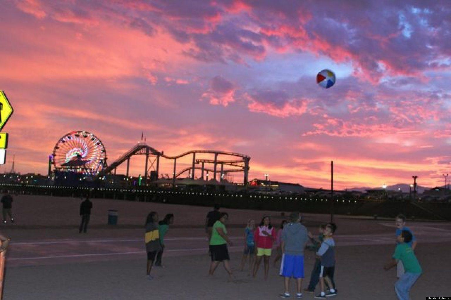 Los Angeles Sunset Tumblr