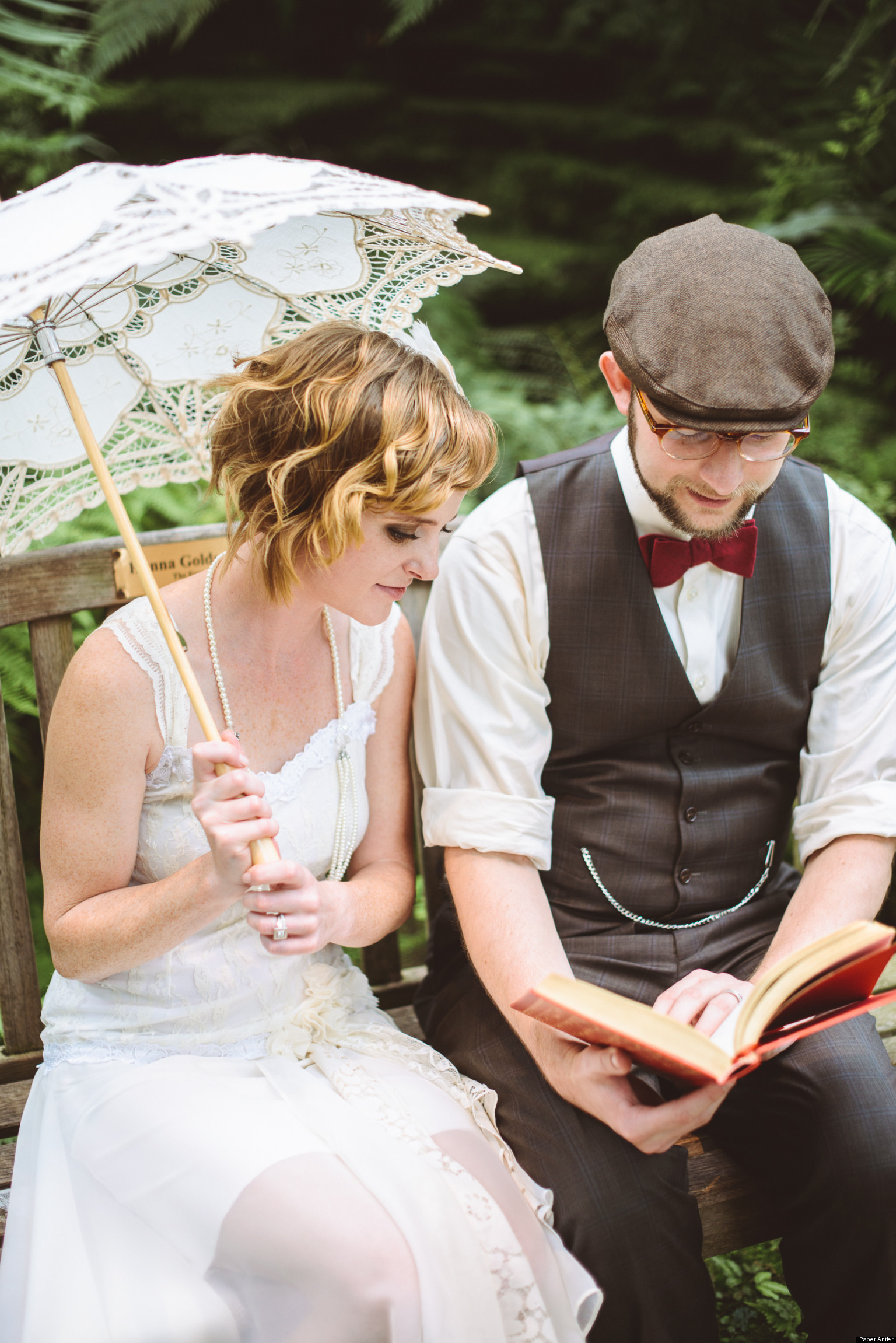Real weddings great gatsby inspired nuptials photos huffpost junglespirit