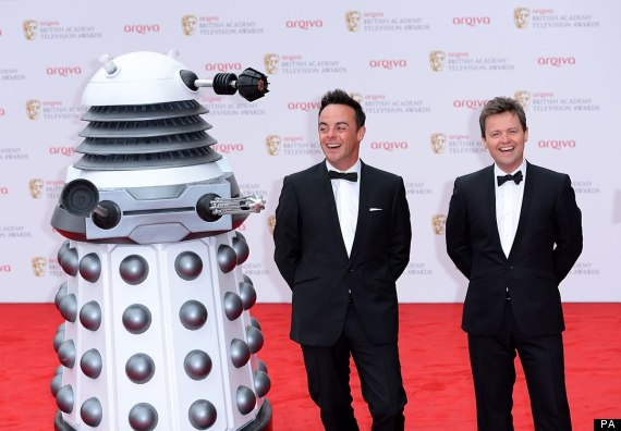 ant and dec dalek tv baftas