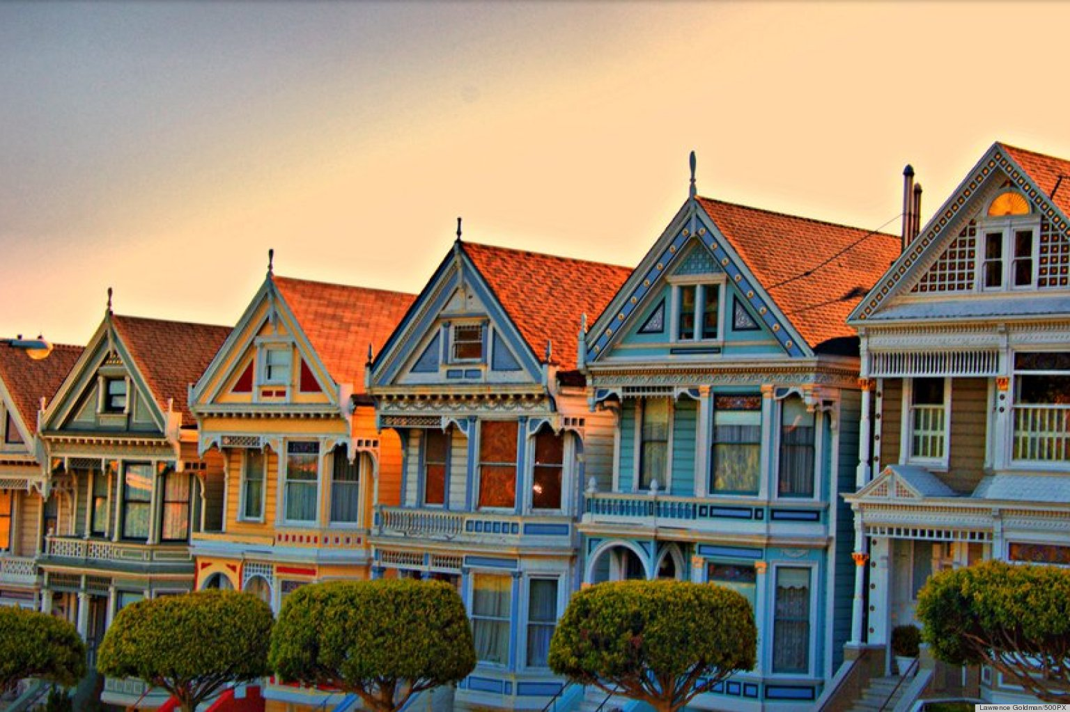 San Francisco S Painted Ladies Are Our Inspiration Of