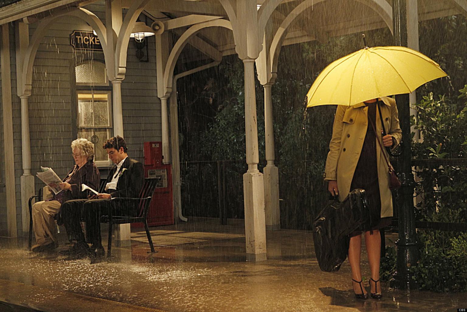 Cristin Milioti How I Met Your Mother Yellow Umbrella