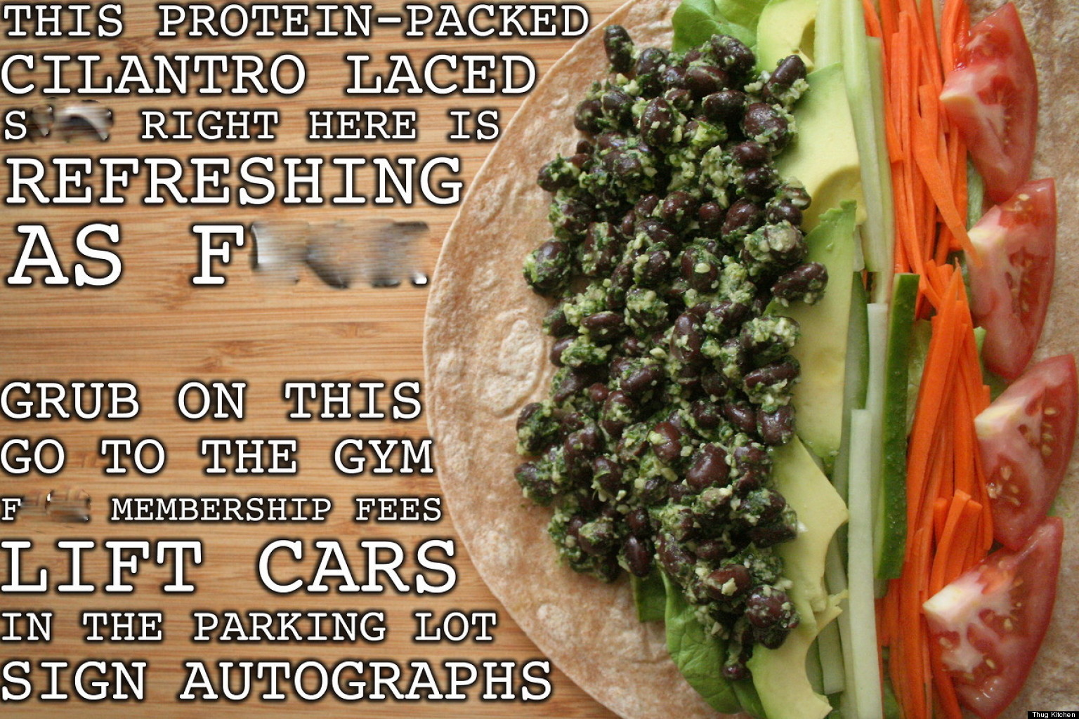 Thug Kitchen: Amazing Tumblr Wants You To Eat Like You Give A F**k ...