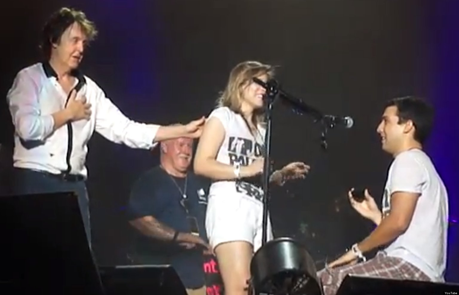 Paul McCartney Concert Includes Adorable Onstage Marriage Proposal VIDEO