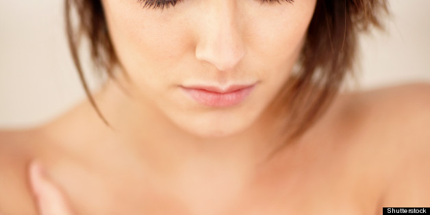 closeup portrait of a sexy nude ...