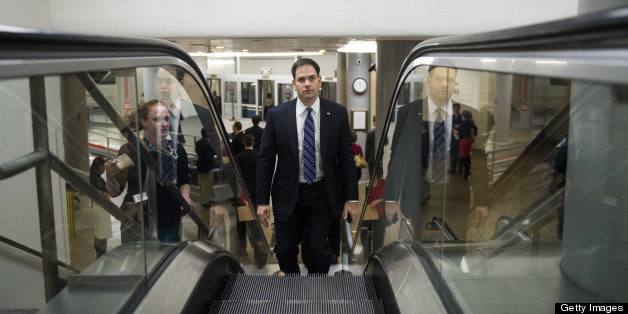 Marco Rubio Takes On Obama's Transformative Narrative