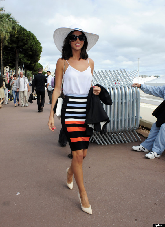 lucy mecklenburgh cannes film festival