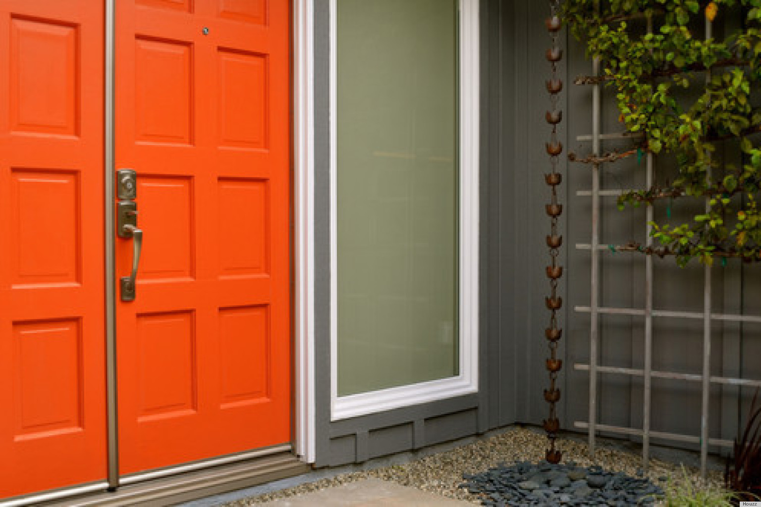 The 6 absolute best paint colors for your front door photos huffpost Best white paint for interior doors