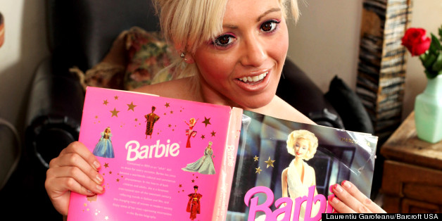 Sarah loves 'the Barbie look'