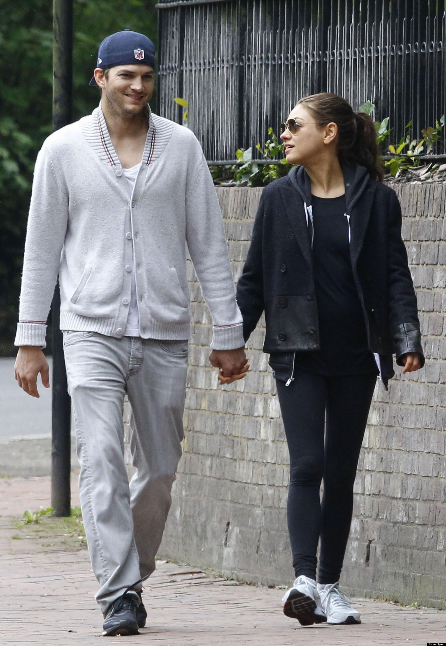 Ashton Kutcher en Mila Kunis 2013 dating