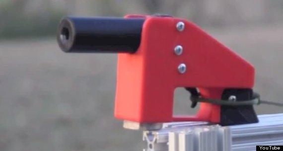 new 3d printed gun