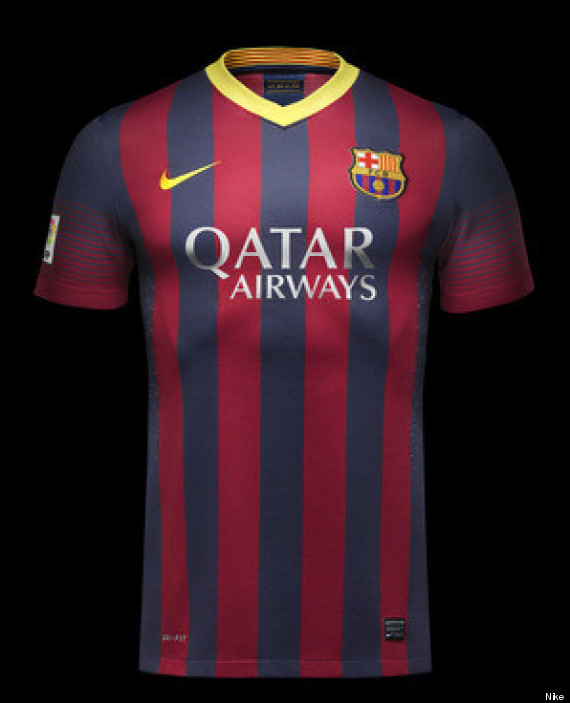 new barcelona shirt