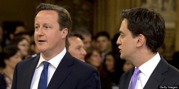 Ed Miliband has said David Cameron can not control his party
