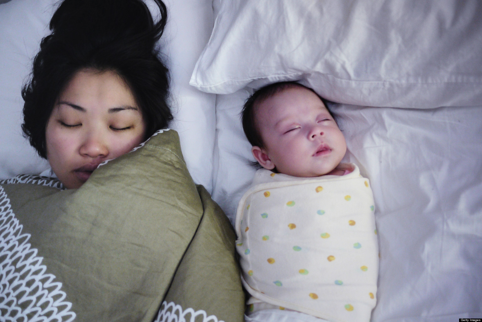 Co-Sleeping And SIDS: Risk Is Increased When Infants Sleep ...
