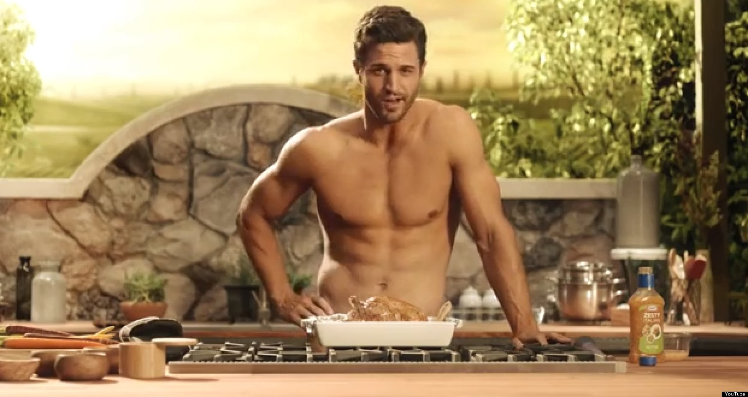 Shirtless Men The New Big Thing In Advertising  Huffpost-3448