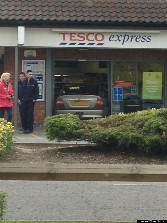 tesco car