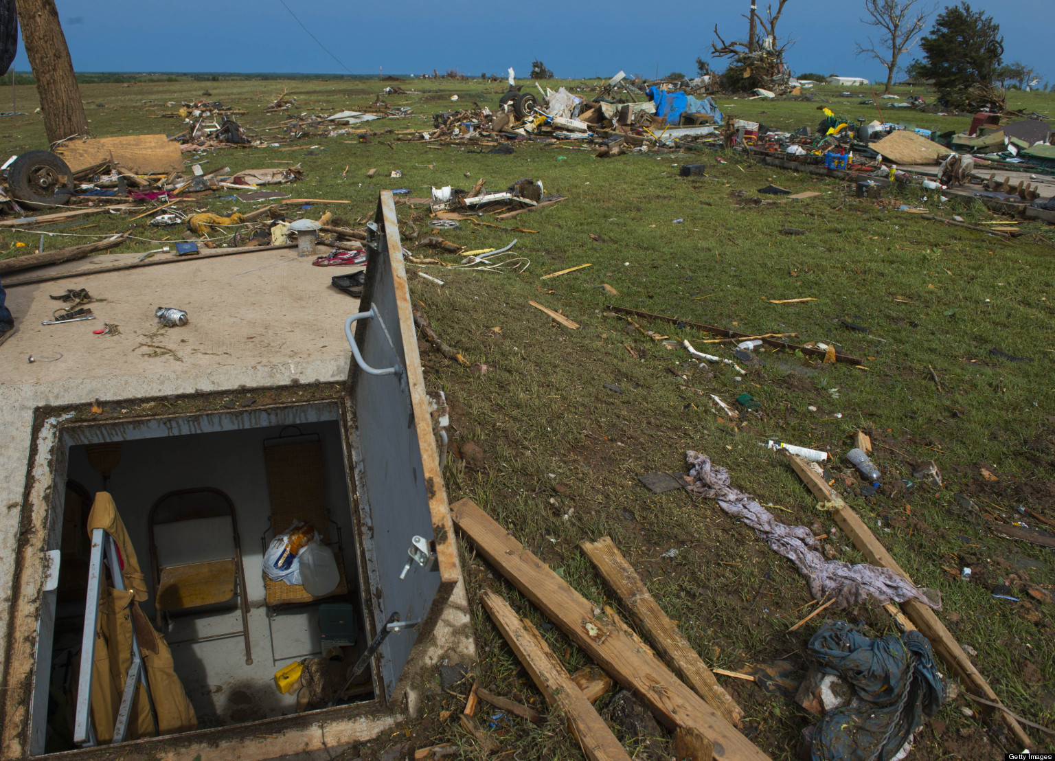 Storm Shelter Business Surges Following Oklahoma Tornado Devastation Huffpost