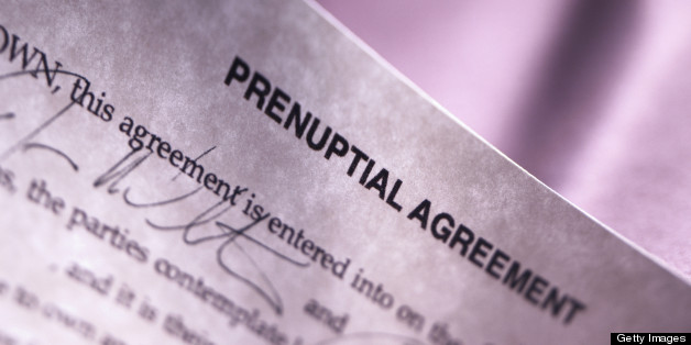 Sign This Or Else How Prenup Powerplays Prevail Huffpost