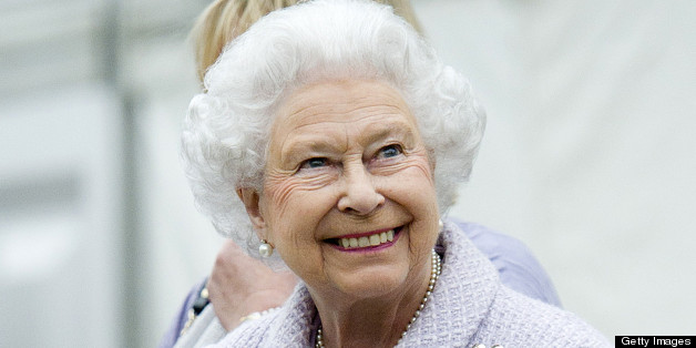 Britain's Queen Elizabeth II vists the Chelsea Flower Show in London on May 20, 2013. The world-famous gardening event run by the Royal Horticultural Society (RHS) is celebrating its centenary year. AFP PHOTO/POOL/GEOFF PUGH        (Photo credit should read GEOFF PUGH/AFP/Getty Images)