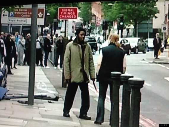 woolwich attack second man knife