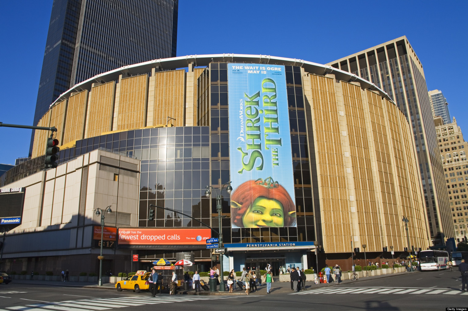 Madison square garden limited to 15 year permit in department of city planning decision huffpost for Address of madison square garden