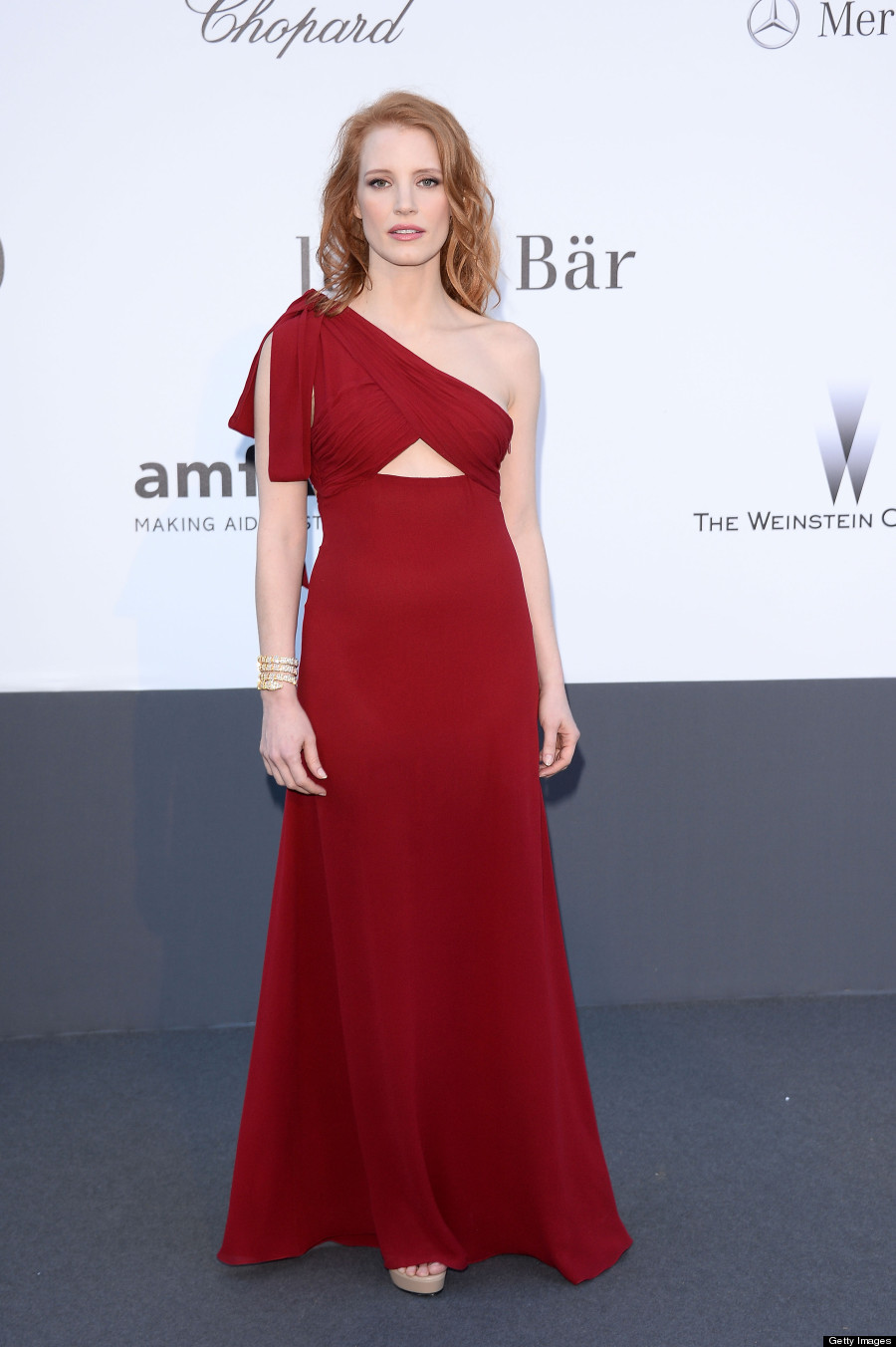 Jessica Chastain\'s Cannes 2013 Dress Channels Jessica Rabbit, Shows ...