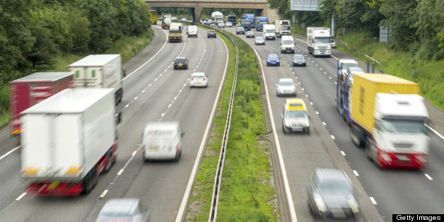 Warwickshire Police closed a section of the M6