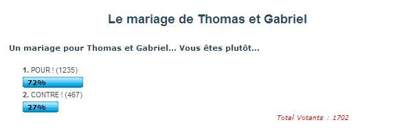 mariage thomas gabriel