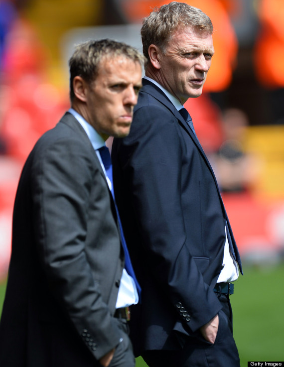 phil neville david moyes