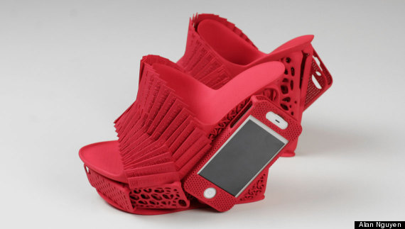 3d printed iphone shoe