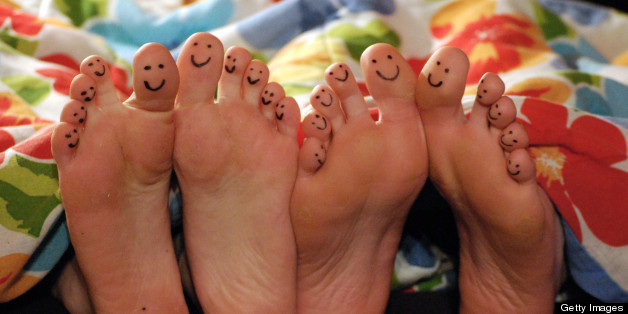 If these toes don't make you smile, we don't know what will :-)